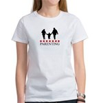 Parenting (red stars) Women's T-Shirt