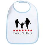 Parenting (red stars) Bib