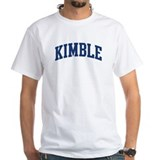 KIMBLE design (blue) Shirt