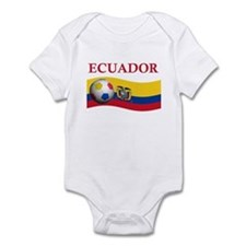 TEAM ECUADOR WORLD CUP Infant Bodysuit