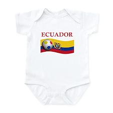 TEAM ECUADOR WORLD CUP Infant Bodysuit