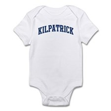 KILPATRICK design (blue) Infant Bodysuit