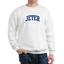 JETER design (blue) Sweatshirt