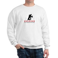 Ballroom Dancing (red stars) Sweatshirt