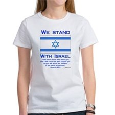 """We Stand With Israel"" Tee"