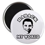 Barack my world Magnet