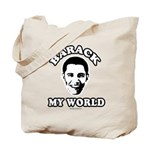 Barack my world Tote Bag