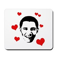 I heart Barack Obama Mousepad