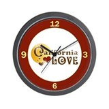 California Love Wall Clock
