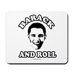 Barack and roll Mousepad