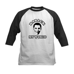Barack my world Kids Baseball Jersey
