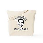 Barack my world Tote Bag