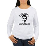 Barack my world Women's Long Sleeve T-Shirt