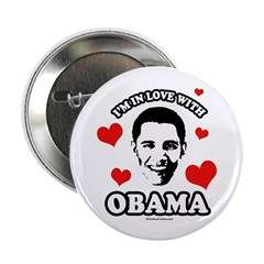 "I've got a crush on Obama 2.25"" Button"