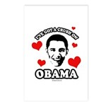I've got a crush on Obama Postcards (Package of 8)