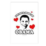 I've got a crush on Obama Postcards (Package of 8)