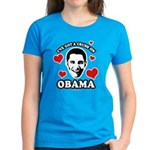 I've got a crush on Obama Women's Dark T-Shirt