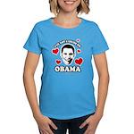 I've got a crush on Obama Women's Dark T-Shirt