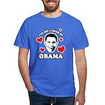 I've got a crush on Obama Dark T-Shirt