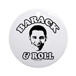 Barack & Roll Ornament (Round)