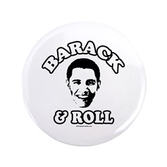"Barack & Roll 3.5"" Button"