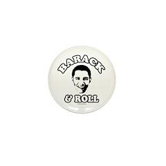 Barack & Roll Mini Button (10 pack)