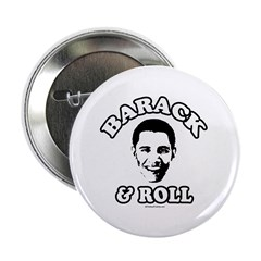 "Barack & Roll 2.25"" Button"
