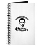 Vote for peace with Obama Journal