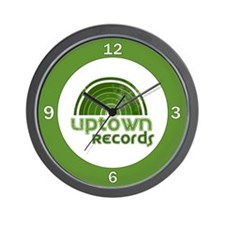 Uptown Records Wall Clock