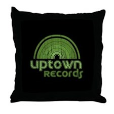 Uptown Records Throw Pillow