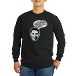 Obama for Peace Long Sleeve Dark T-Shirt