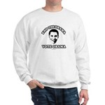 End the drama, Vote Obama Sweatshirt