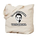 End the drama, Vote Obama Tote Bag