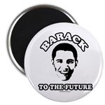Barack to the future Magnet