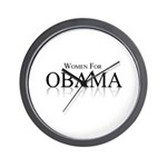 Women for Obama Wall Clock