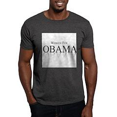 Women for Obama Dark T-Shirt
