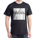 Voto para el cambio: Obama Dark T-Shirt