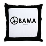 Obama 2008 for Peace Throw Pillow