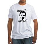 Voto para Obama Fitted T-Shirt