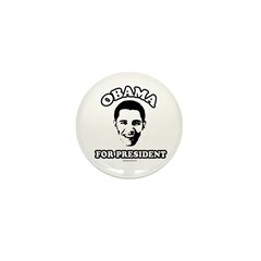 Obama for President Mini Button (100 pack)