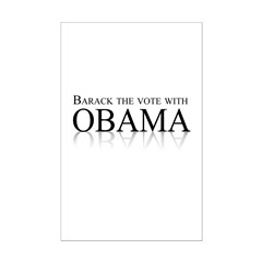 Barack the vote with Obama Posters