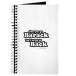 Once you go Barack you'll never go back Journal