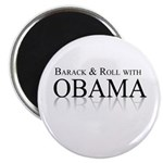 Barack and Roll with Obama Magnet