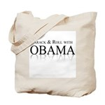 Barack and Roll with Obama Tote Bag
