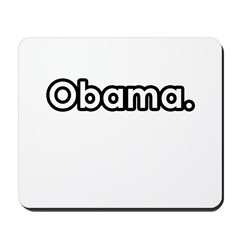 Obama period Mousepad
