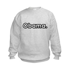 Obama period Kids Sweatshirt