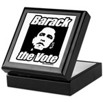 Barack the vote Keepsake Box