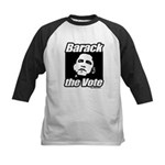 Barack the vote Kids Baseball Jersey