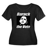 Barack the vote Women's Plus Size Scoop Neck Dark