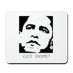 Obama 2008: Got hope? Mousepad